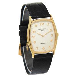 Patek Philippe 3842R For Tiffany Gondolo 18K Rose Gold Dial Manual Mens Watch