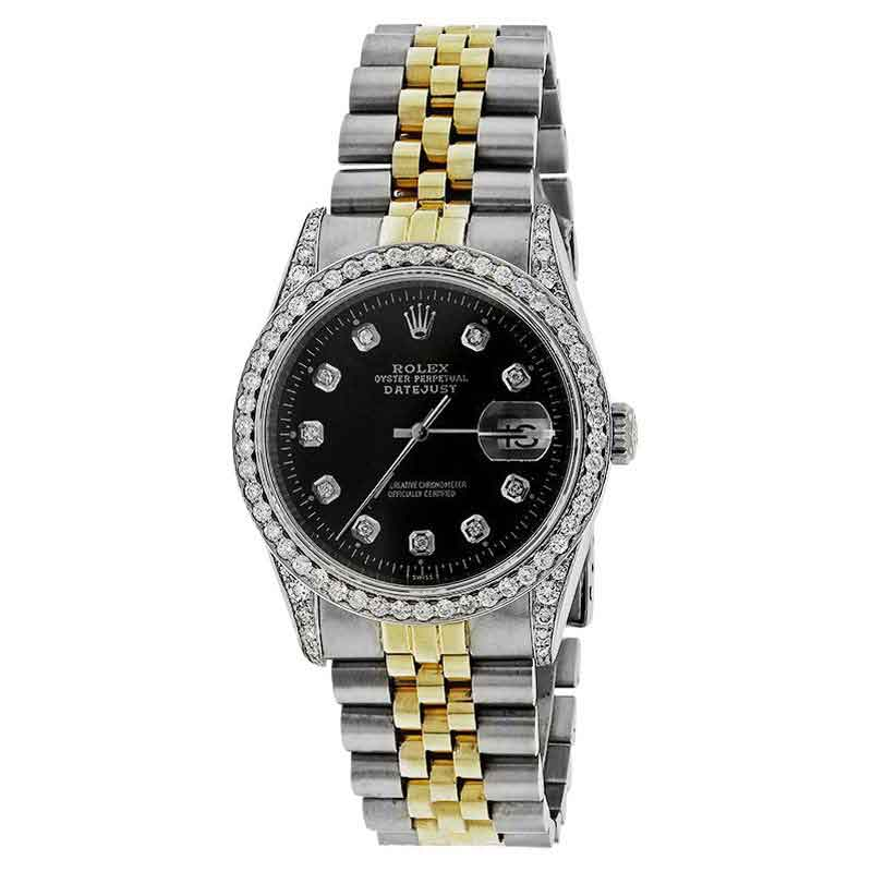 """Image of """"Rolex Datejust 16233 36mm two (2) Tone 18K Gold & Stainess Steel"""""""