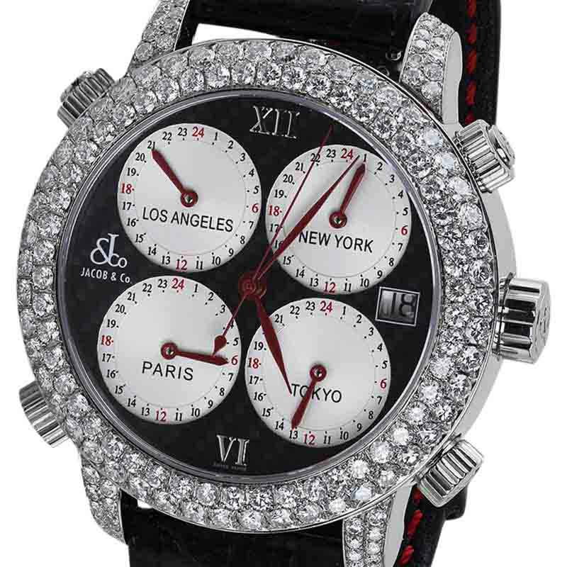 "Image of ""Jacob & Co. Diamond H24 Mens Watch"""