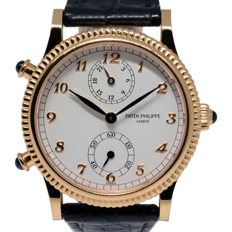 Patek Philippe Travel Time 4864R 18K Rose Gold 29mm Watch