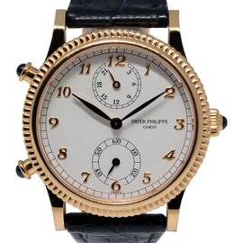 Patek Philippe Travel Time 4864R 18K Rose Gold 29mm Watch