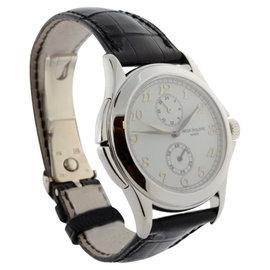 Patek Philippe 5134 Travel Time 18K White Gold Mens Watch
