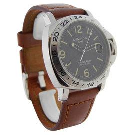 Panerai Luminor GMT 29 A Stainless Steel Ocean Chronometer 44mm Watch