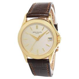 Patek Philippe 5107J Calatrava 5107 18K Yellow Gold Automatic Watch