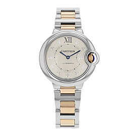 Cartier Ballon Bleu WE902044 Steel & 18K Rose Gold Automatic Ladies Watch