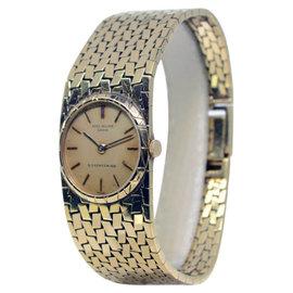 Patek Philippe 3310J Vintage 18K Yellow Gold Windup Womens Watch