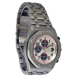 Audemars Piguet 26170ST Royal Oak Offshore Stainless Steel Panda Chronograph Watch