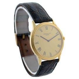 Patek Philippe Vintage Calatrava 3591 18K Yellow Gold Mens Watch