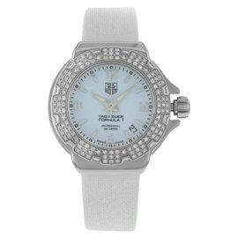 TAG Heuer Formula One WAC1215.FC6219 Steel Factory Diamonds Quartz Womens Watch