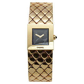 Chanel Matelasse 18K Yellow Gold Women's Watch