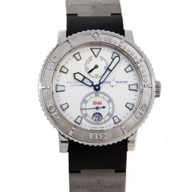 Ulysse Nardin Diver 263-55-3 Maxi Marine Stainless Steel Automatic Mens Watch