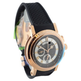 Breguet Marine 5827 Chronograph 18K Rose Gold Mens Watch