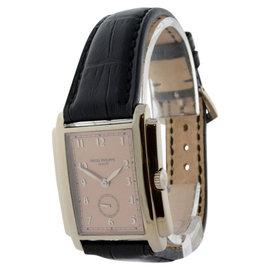 Patek Philippe Gondolo 5024 18K White Gold Mens Watch