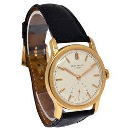 Patek Philippe Vintage 2449 18K Rose Gold Mens Watch