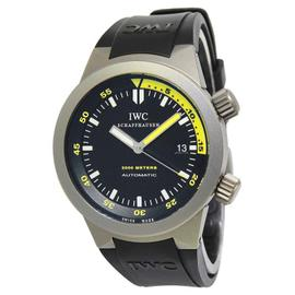 IWC Aquatimer 3538 Titanium Black/Yellow Dial Automatic Mens Watch