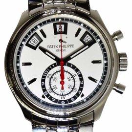 Patek Philippe Annual Calendar 5960/1A-001 Steel Chronograph Mens Watch