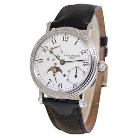Patek Philippe Complications 5015 Platinum Power Reserve Moon 35.5mm Watch