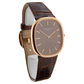 Patek Philippe 3738R Ellipse 3738 18K Rose Gold Mens Watch