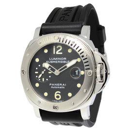 Panerai Luminor Submersible PAM 24 Steel Mens 44mm Watch