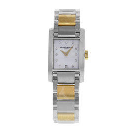 Baume & Mercier Diamant MOA08738 18K Yellow Gold & Steel Quartz Ladies Watch