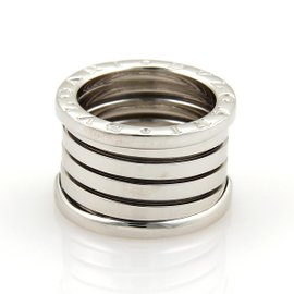 Bulgari B Zero-1 18K White Gold Band Ring