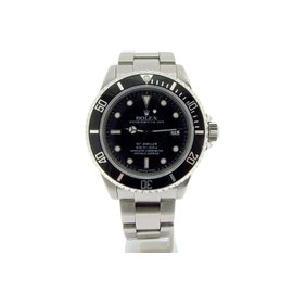 Rolex Stainless Steel Sea-Dweller 16600 Date 4000 w/Black Dial & Bezel Mens Watch