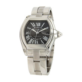 Cartier Roadster 962163UF 2510 Automatic Stainless Steel Wrist Watch