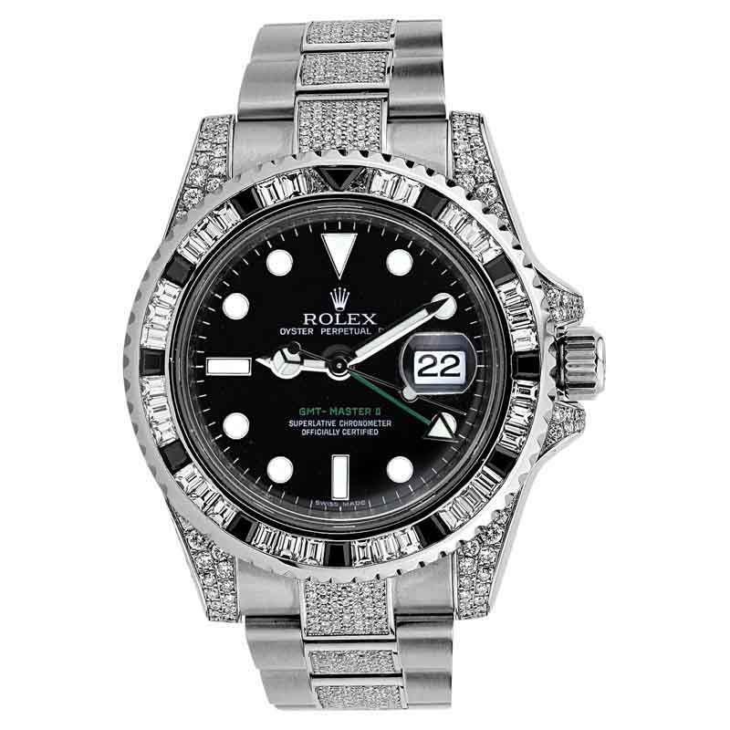 "Image of ""Rolex GMT-Master II 116710 Stainless Steel Mens Watch"""