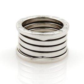 Bulgari B Zero-1 18K White Gold Band Ring
