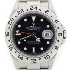 Rolex Explorer II 16570T Stainless Steel Date SEL