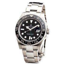 Rolex GMT-Master II 116710 Stainless Steel Black Dial Ceramic Bezel Mens Watch