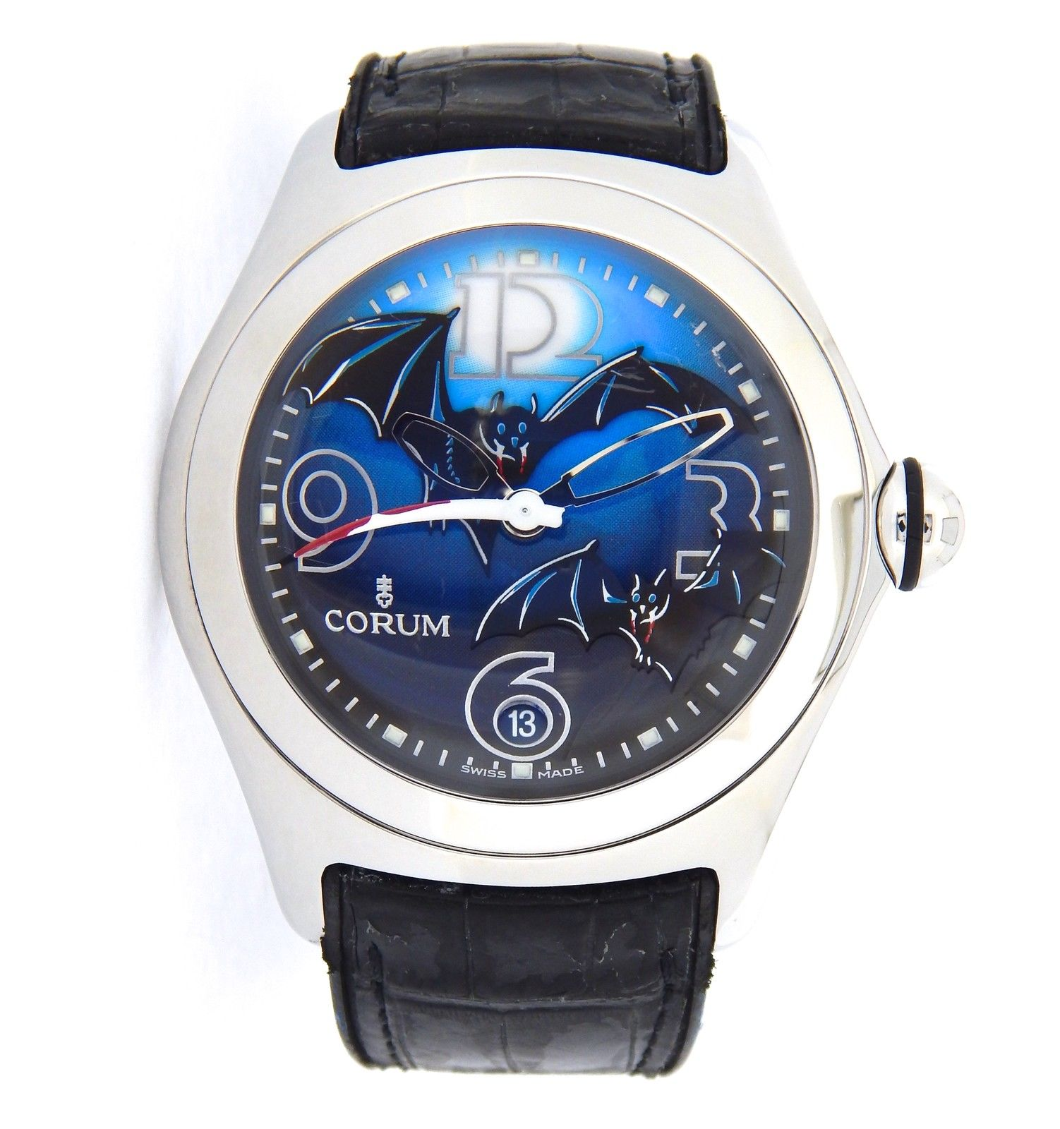 """Image of """"Corum Bubble 082.150.20 Stainless Steel Mens Watch"""""""