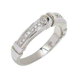 Di Modolo 18K White Gold & Diamonds Wide Band Ring