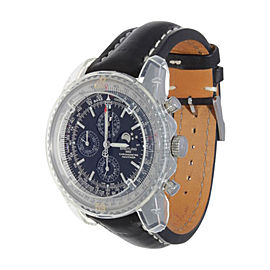 Breitling Navitimer A1937012/C883 1461 Black Leather Mens Watch