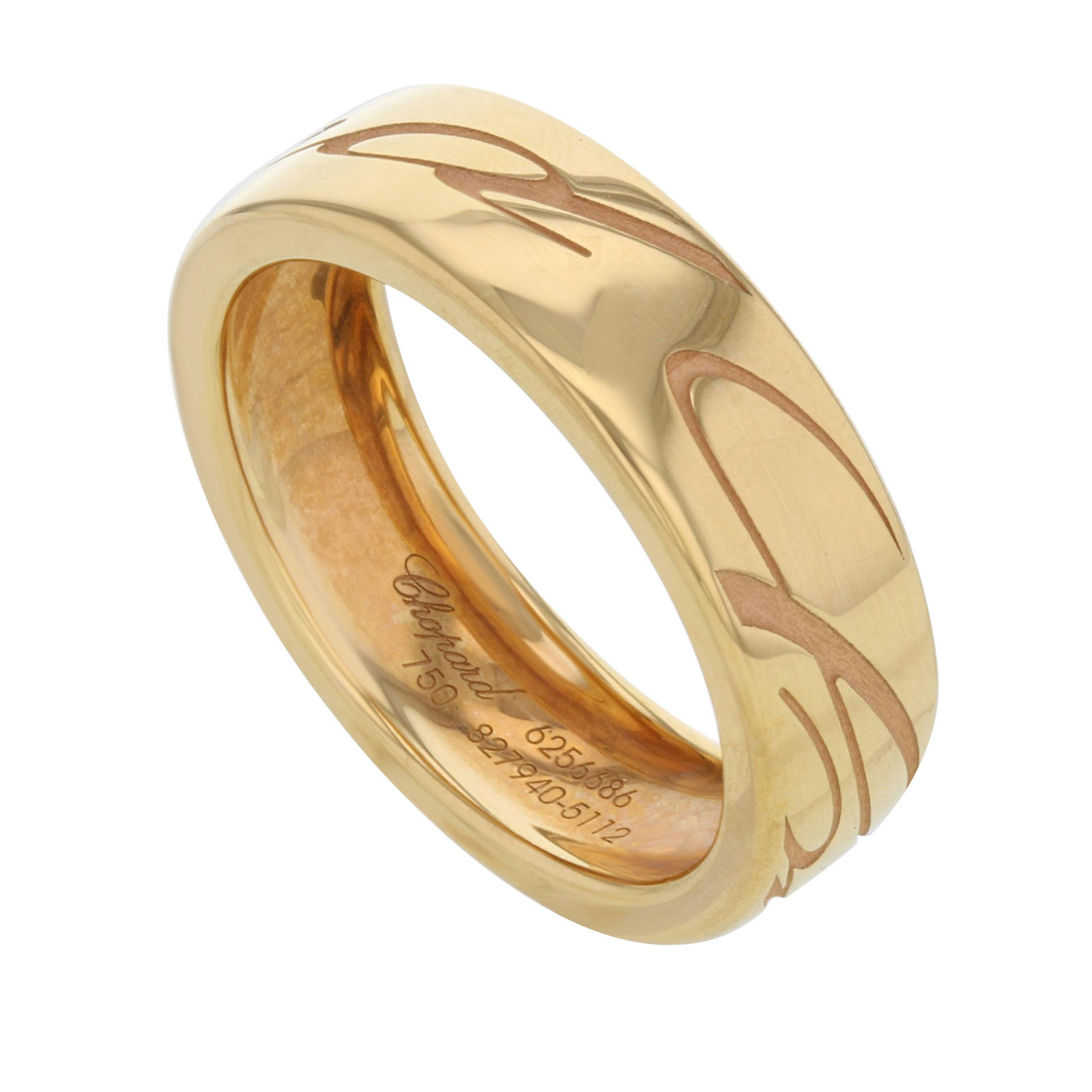 "Image of ""Chopard 18K Rose Gold Chopardissimo Ring Sz 7"""