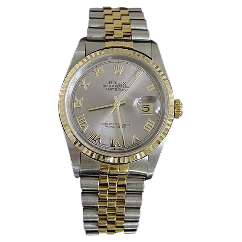"""Image of """"Rolex Datejust 16233 Stainless Steel & 18k Yellow Gold Jubilee Slate"""""""