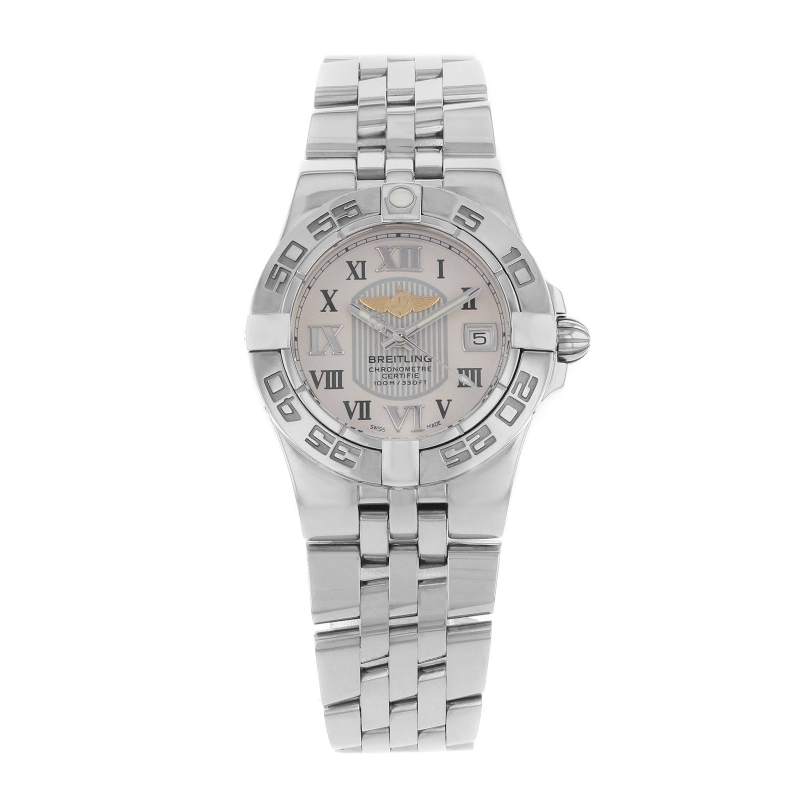 "Image of ""Breitling Galatic 30 A71340L2/g670-368A Stainless Steel Quartz Womens"""