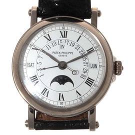 Patek Philippe Grand Complications 5059 G White Gold Perpetual Calendar Mens Watch