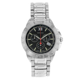 Versace V-Sport Stainless Steel 44mm Watch