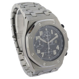 Audemars Piguet Royal Oak Offshore 26170ST.OO.1000ST.08 Steel Black Dial Mens 44mm Watch