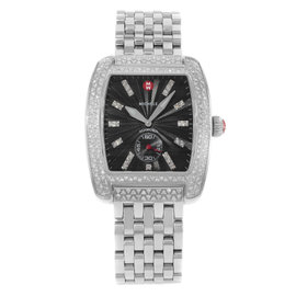 Michele Urban Classic MWW02T000009 Stainless Steel & Diamonds Quartz Womens Watch