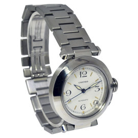 Cartier Pasha 2324 Stainless Steel Automatic 35mm Mens Watch
