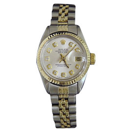 Rolex Datejust 6917 Two-Tone 14K Yellow Gold & Stainless Steel Womens Watch