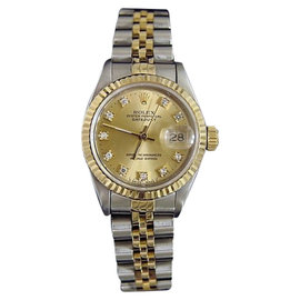 Rolex Datejust 69173 18K Yellow Gold & Stainless Steel Womens Watch