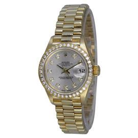 Rolex Datejust President 79138 Diamond Dial & Bezel Watch