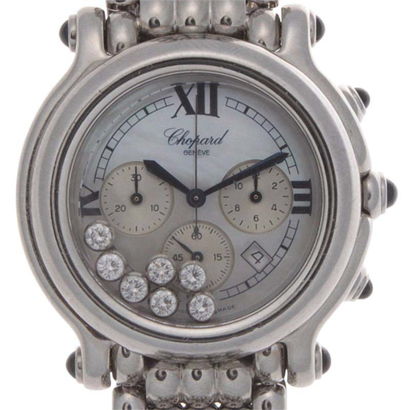 "Image of ""Chopard Happy Sport 28/8267-23 Stainless Steel Mother Of Pearl Dial"""