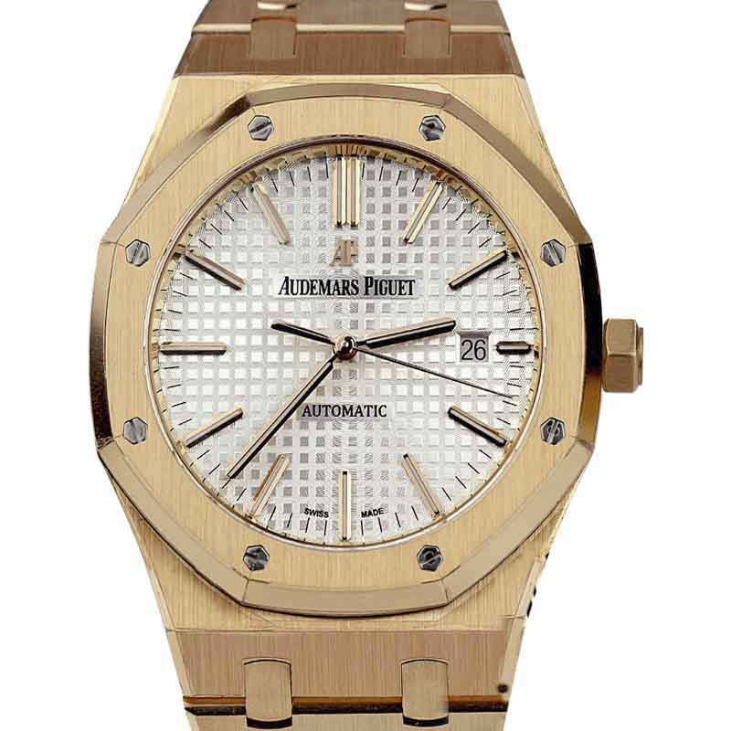 "Image of ""Audemars Piguet 15400Or.oo.1220Or.02 Royal Oak 18K Rose Gold 41mm"""
