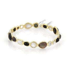 Ippolita 18K Yellow Gold & Gemstone Bangle Bracelet