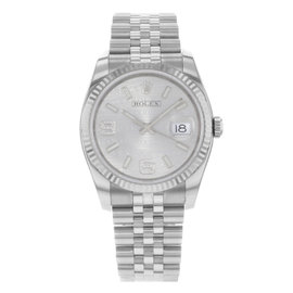 Rolex Datejust 116234 18K White Gold & Stainless Steel Automatic 36mm Mens Watch