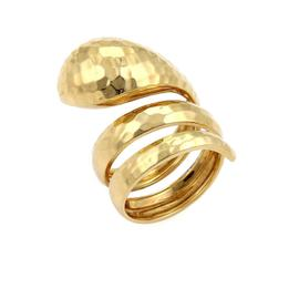 Roberto Coin 18K Yellow Gold Wrap Ring Size 6